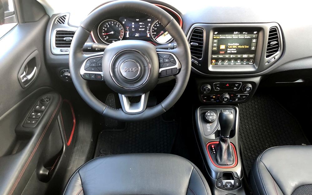 2017 jeep compass dashboard interior