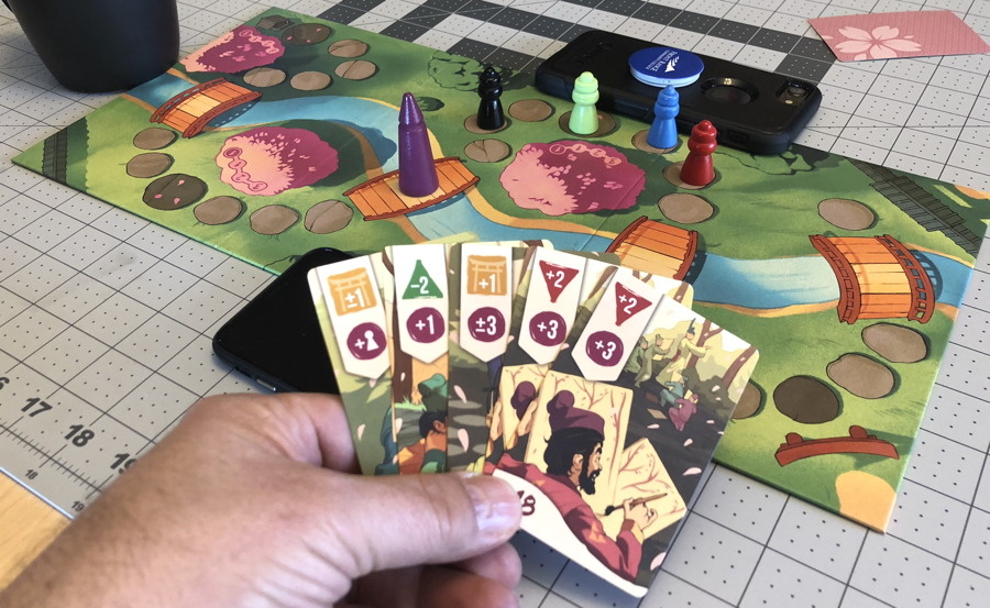 sakura osprey games board card game