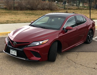 review writeup toyota camry xse 2018