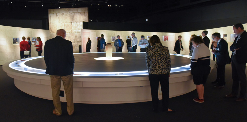 Dead Sea Scrolls exhibit