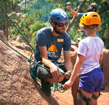 avid4 adventure rock climbing camp counselor