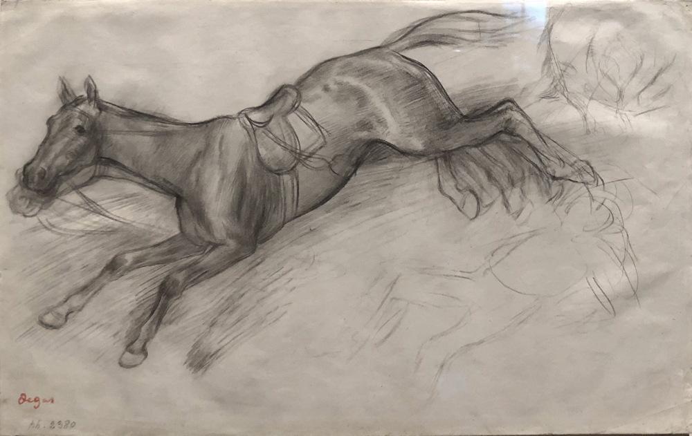 Degas Study for Scene from the Steeplechase