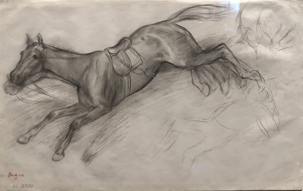 Degas Study for Scene from the Steeplechase