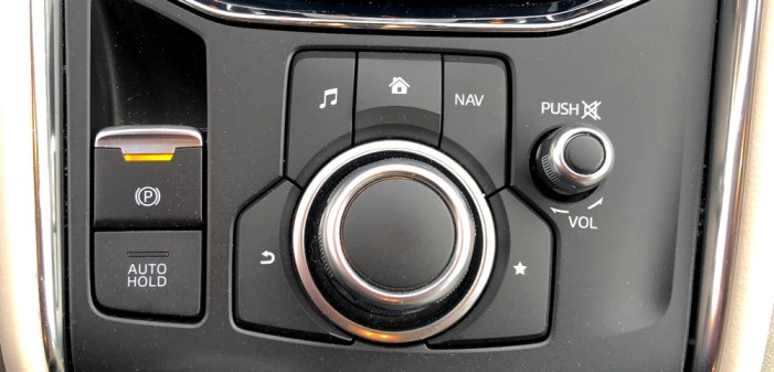 multifunction commander control, mazda cx-5