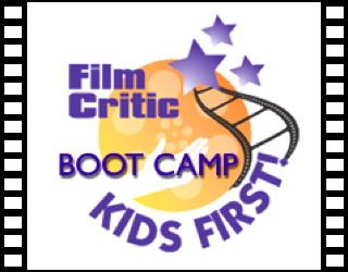 kids first film critic boot camp