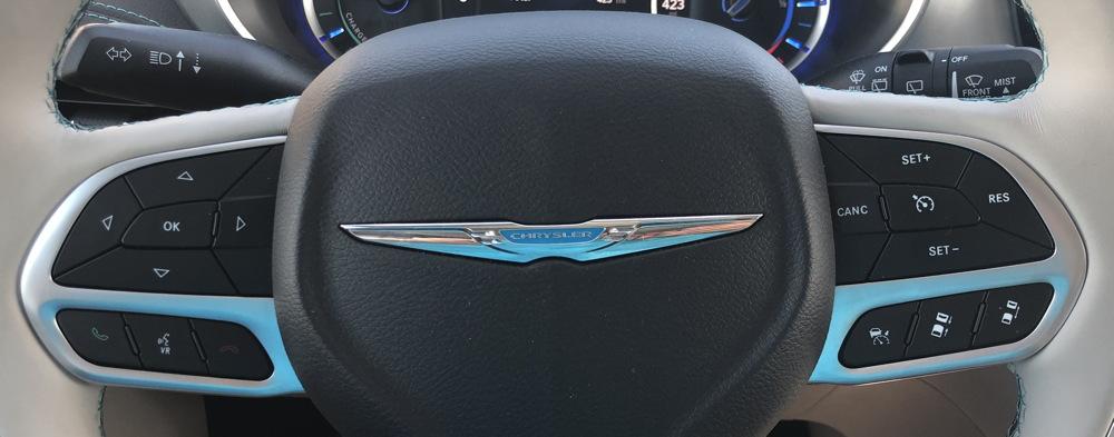 steering wheel controls, 2018 chrysler pacifica