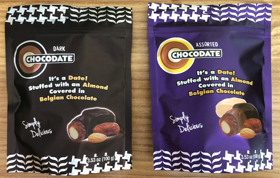 chocodate packaging