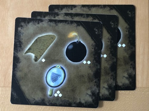 the abandons, item cards