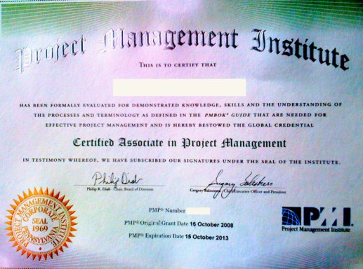 pmi certification pmp