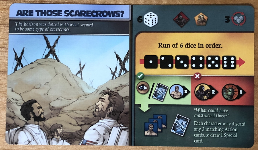 are those scarecrows - planet of the apes game