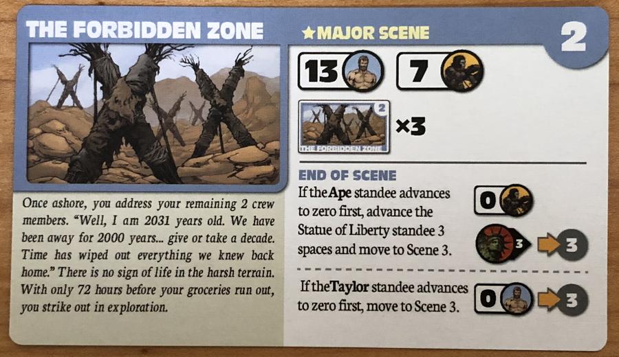 forbidden zone major scene - planet of the apes
