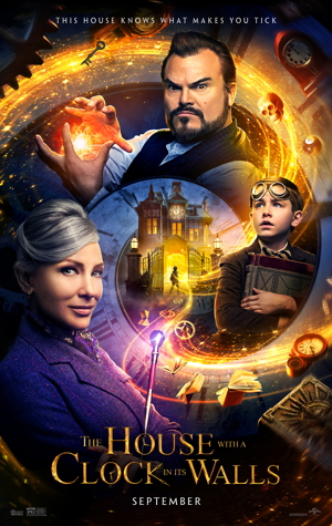the house with a clock in its walls movie poster one sheet