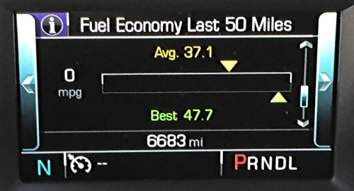2018 chevrolet equinox fuel efficiency