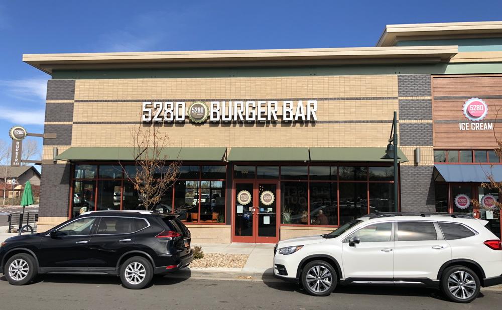 5280 burger bar, westminster co exterior
