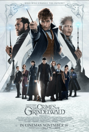 fantastic beasts - the crimes of grindelwald - movie poster one sheet