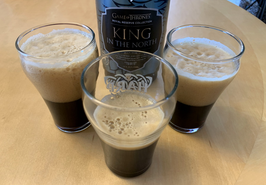 got king in the north stout beer