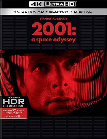 2001 a space odyssey 4k uhd release cover