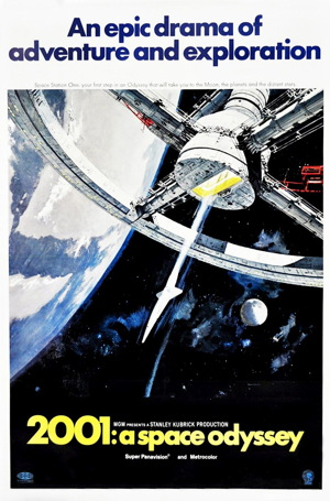 2001 a space odyssey original movie poster one sheet