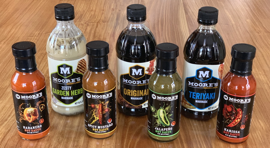 moore's marinades and hot sauces