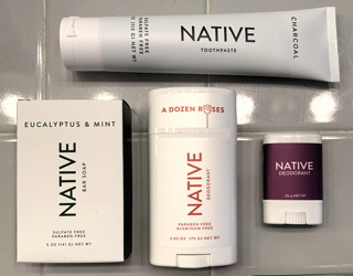 native soap deodorant toothpaste products healthy