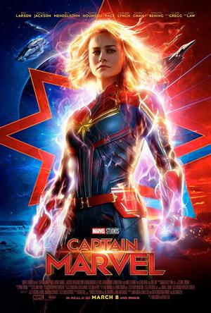 captain marvel 2019 movie poster one sheet