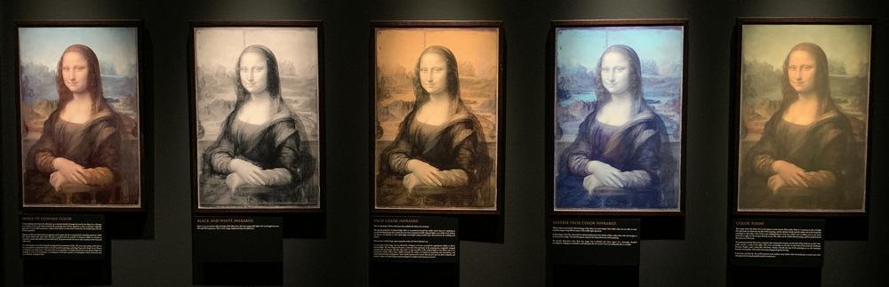 the five mona lisa paintings dmns