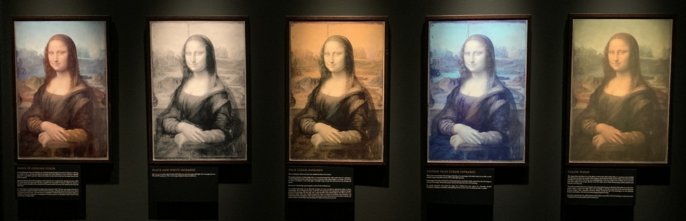 the five mona lisa paintings dmns