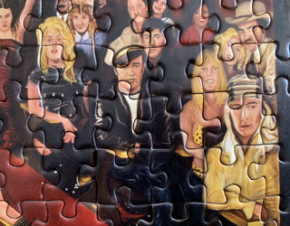 pressman toys - jigsaw puzzles - hollywood dreams