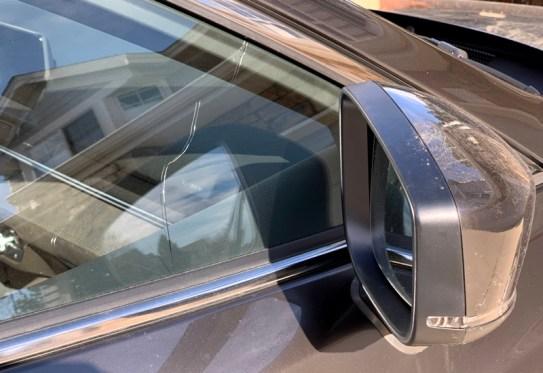 cracked side passenger window - mazda6