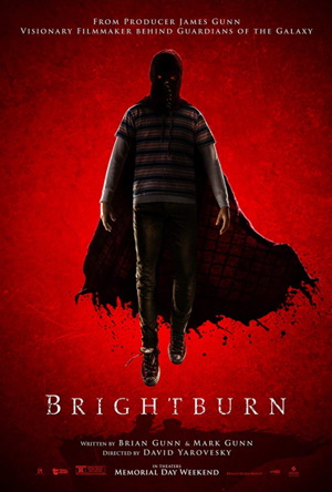 brightburn movie poster one sheet 2019