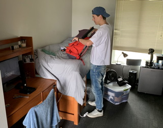 done with year one freshman college pitzer dorm