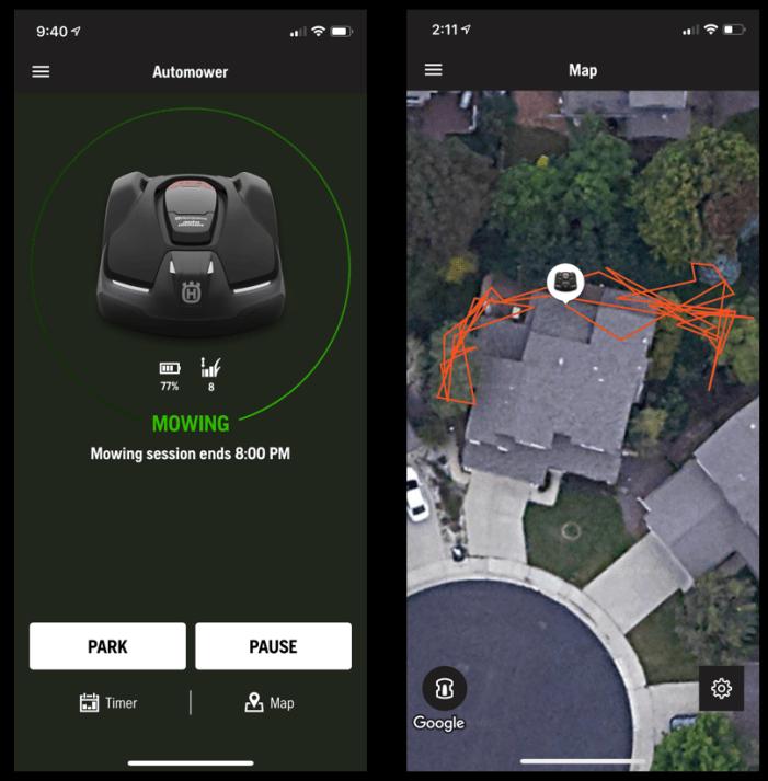 husqvarna automower app