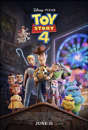 toy story 4 movie poster one sheet