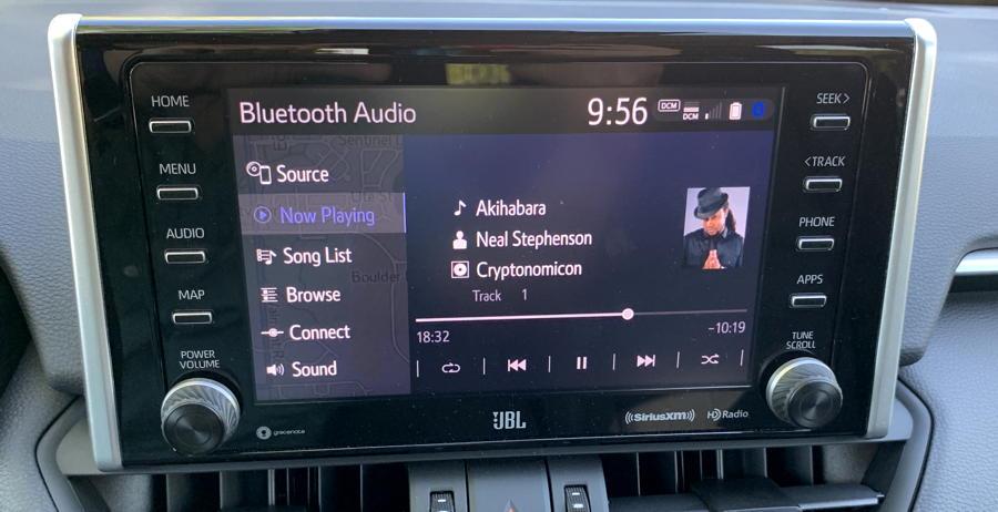 Entune premium audio / nav system 2019 toyota rav4