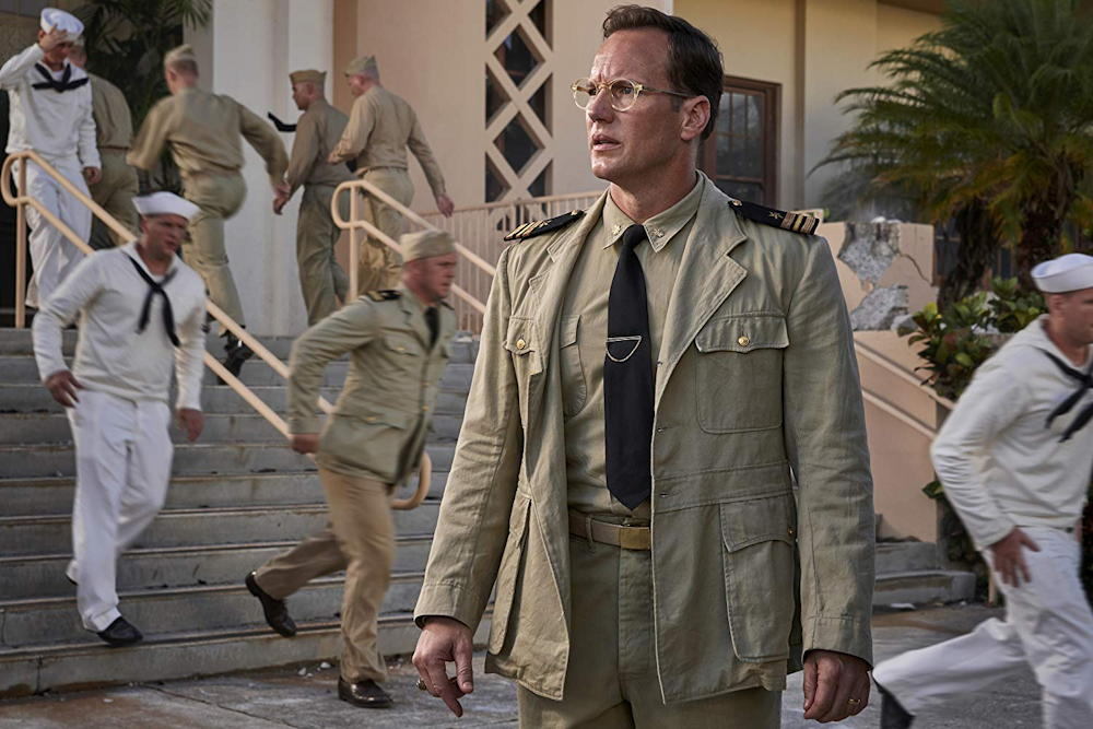 Lieutenant Commander Edwin Layton (Patrick Wilson) from MIDWAY