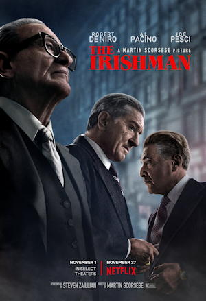 the irishman film movie poster one sheet