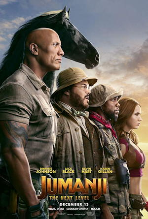 jumanji the next level movie poster one sheet