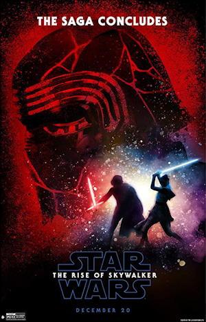 star wars rise skywalker movie poster one sheet