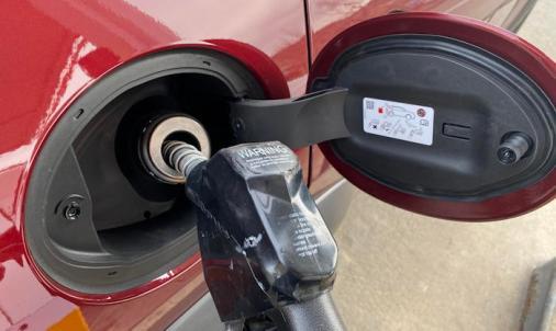 2020 jeep cherokee trailhawk elite - no gas cap