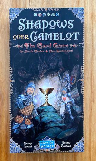 shadows over camelot the card game - box