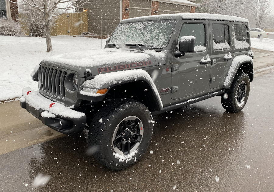 2020 jeep wrangler unlimited rubicon 4x4 - exterior front