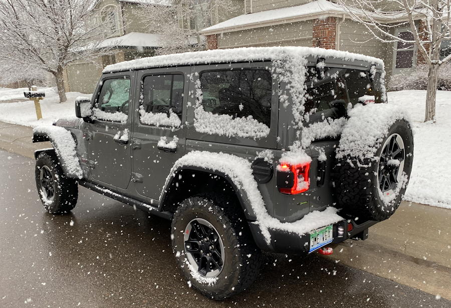2020 jeep wrangler unlimited rubicon 4x4 rear exterior