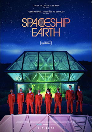 spaceship earth movie poster one sheet 2020