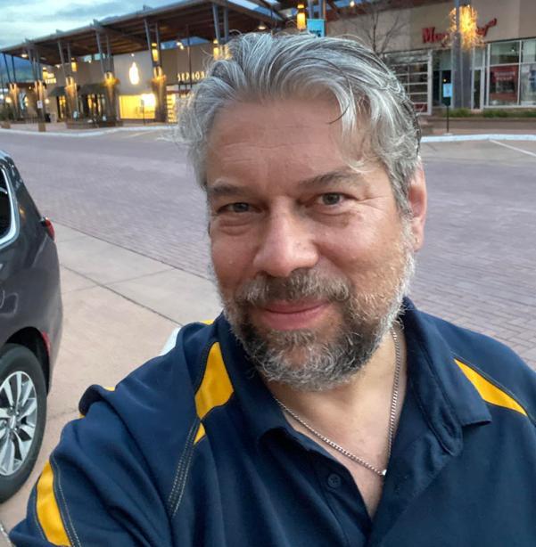 Dave taylor - selfie - haircut