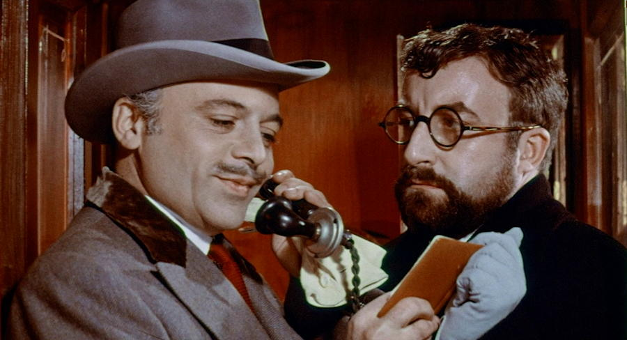 mr topaze - publicity still photo - 1961 movie film herbert lom peter sellers