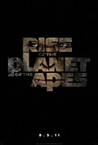 rise planet of the apes one sheet