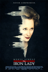 the iron lady one sheet