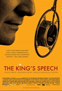 the kings speech one sheet