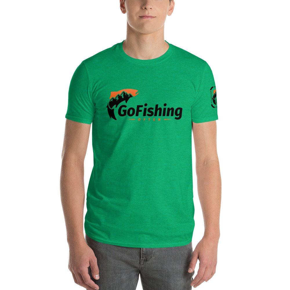 Go Fishing Often – Logo Tee