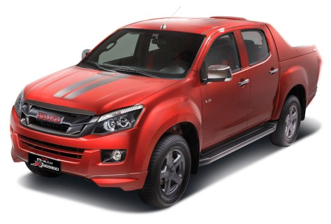 isuzu-d-max-x-series-red